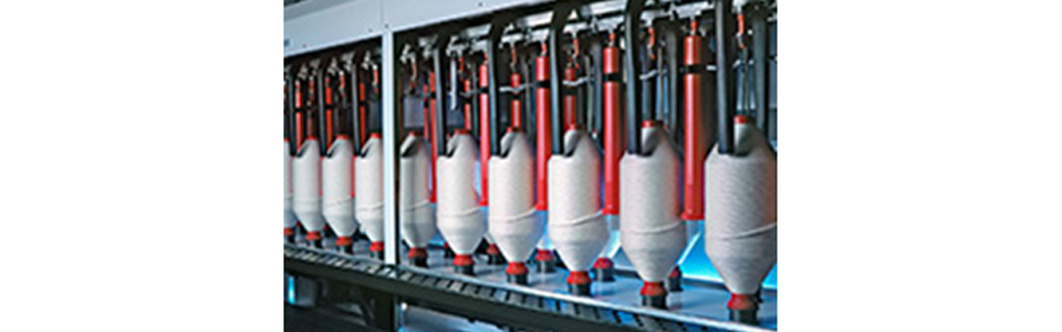 Machines for textile industry, spinning mills, weaving mills